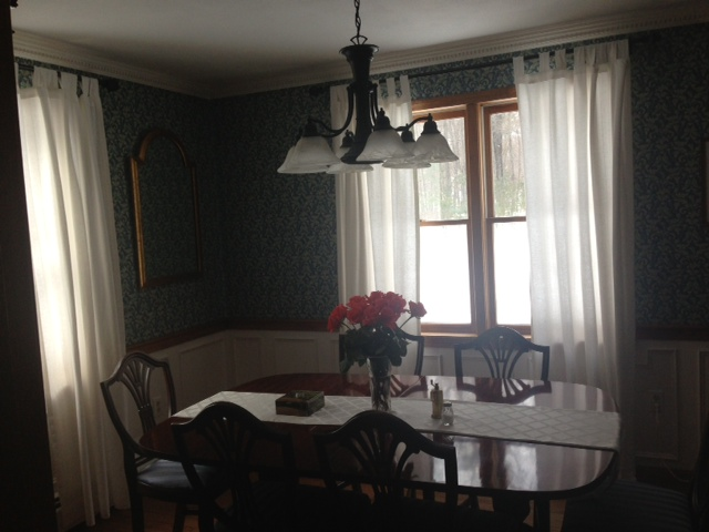 BEFORE: RARELY USED FORMAL DINING ROOM