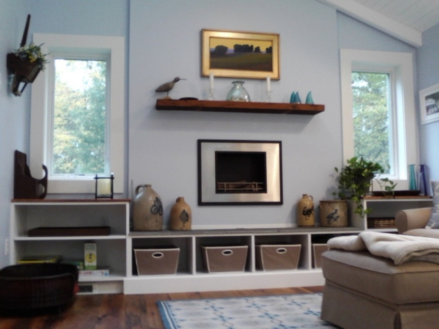 AFTER: CREATING A VERSATILE FOCAL POINT