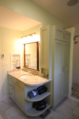 AFTER: CUSTOM DESIGNED ECO-FRIENDLY EXECUTIVE CABINETRY