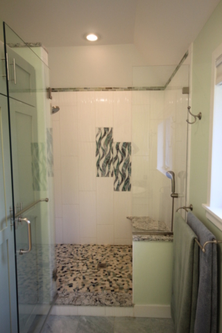 A 5X4 CUSTOM SHOWER MADE FOR 2
