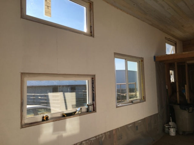 LET THERE BE LIGHT: 12 WINDOWS 1 GLASS DOOR BRING IN NATURAL LIGHT