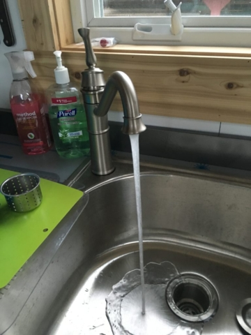 LARGE D BOWL SINK - LET THERE BE WATER