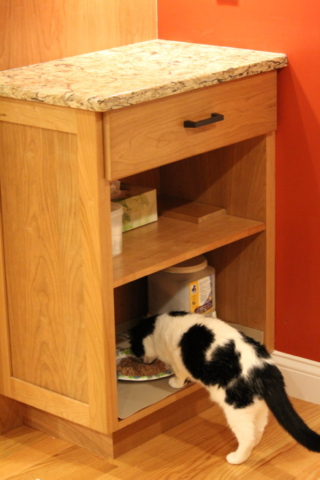AFTER: EVEN THE CATS HAVE THEIR OWN DINER