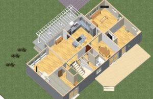 Reconfiguring floor plan