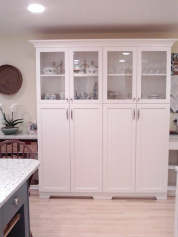 "AFTER: 15"" DEEP PANTRIES ADD CLASS AND FUNCTIONALITY"